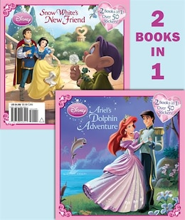 Book Ariel's Dolphin Adventure/snow White's New Friend (disney Princess) by Andrea Posner-sanchez