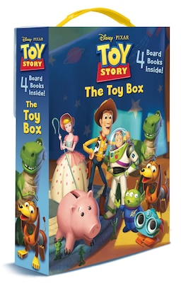 Book The Toy Box (disney/pixar Toy Story): 4 Board Books by Kristen L. Depken