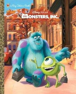 Book Monsters, Inc. Big Golden Book (disney/pixar Monsters, Inc.) by Rh Disney