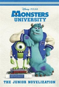 Book Monsters University Junior Novelization (disney/pixar Monsters University) by Rh Disney