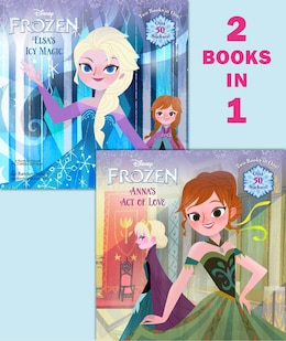 Book Anna's Act Of Love/elsa's Icy Magic (disney Frozen) by Rh Disney