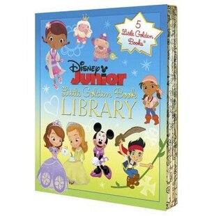 Disney Junior Little Golden Book Library (disney Junior)