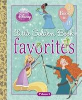 Disney Princess Little Golden Book Favorites: Volume 3 (disney Princess)