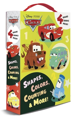 Book Shapes, Colors, Counting & More! (disney/pixar Cars) by Frank Rh Disney