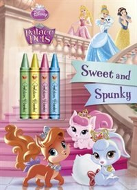 Book Sweet And Spunky (disney Princess: Palace Pets) by Rh Disney
