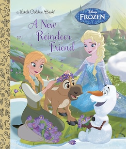 Book A New Reindeer Friend (disney Frozen) by Jessica Julius