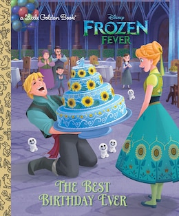 Book The Best Birthday Ever (disney Frozen) by Rico Green