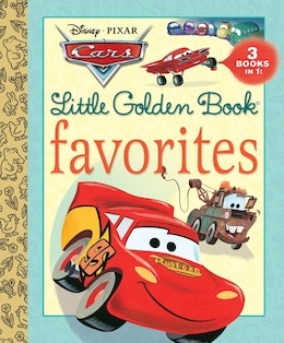 Book Cars Little Golden Book Favorites (disney/pixar Cars) by Various