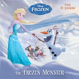 Book The Frozen Monster (disney Frozen) by Rh Disney