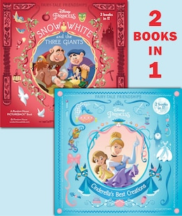 Book Cinderella's Best Creations/snow White And The Three Giants (disney Princess) by Rh Disney