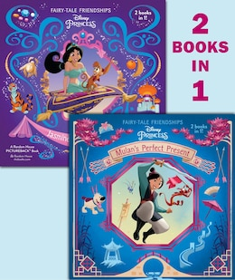Book Mulan's Perfect Present/jasmine's New Friends (disney Princess) by Rh Disney