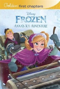 Book Anna's Icy Adventure (disney Frozen) by Rh Disney