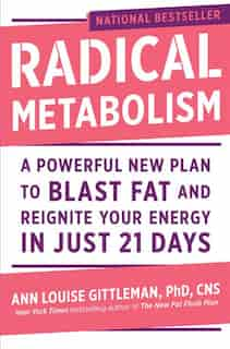 Radical Metabolism: A Powerful New Plan To Blast Fat And Reignite Your Energy In Just 21 Days by Ann Louise Gittleman