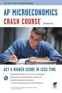 Ap(tm) Microeconomics Crash Course Book + Online