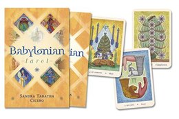 Book The Babylonian Tarot by Sandra Cicero