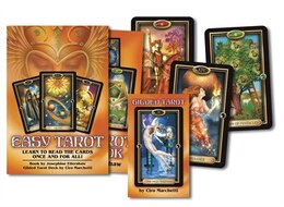 Book Easy Tarot: Learn To Read The Cards Once And For All! by Josephine Ellershaw
