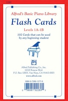 Alfred's Basic Piano Library Flash Cards, Bk 1a And 1b: 102 Cards That Can Be Used By Any Beginning…