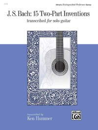 J. S. Bach - 15 Two-part Inventions: Transcribed For Solo Guitar