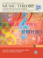 Alfred's Essentials Of Music Theory: Complete Self-study Course, Book And 2 Cds