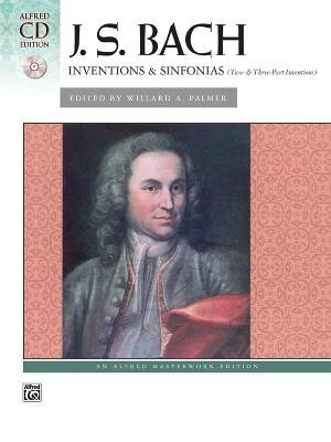 Bach - Inventions And Sinfonias (2 And 3 Part Inventions): Comb Bound Book And Cd de Johann Sebastian Bach