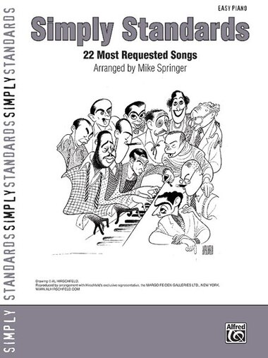 Simply Standards: 23 Popular Jazz Classics (easy Piano)