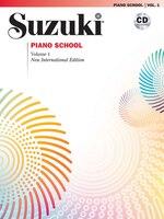 Suzuki Piano School, Vol 1: Book And Cd