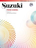Suzuki Piano School, Vol 2: Book And Cd