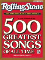Rolling Stone Easy Piano Sheet Music Classics, Vol 1: 39 Selections From The 500 Greatest Songs Of…