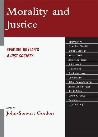 Morality and Justice: Reading Boylan's 'A Just Society' by John-Stewart Gordon