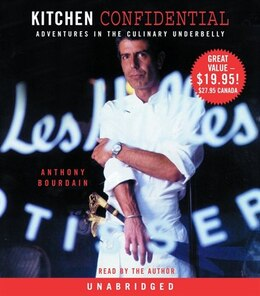 Book Kitchen Confidential: Adventures in the Culinary Underbelly by Anthony Bourdain