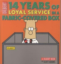 Book 14 Years of Loyal Service in a Fabric-Covered Box: A Dilbert Book by Scott Adams