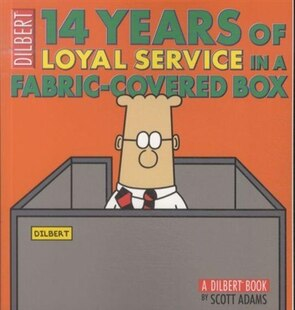 14 Years of Loyal Service in a Fabric-Covered Box: A Dilbert Book