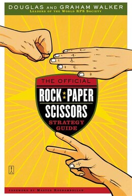 Book The Official Rock Paper Scissors Strategy Guide by Douglas Walker