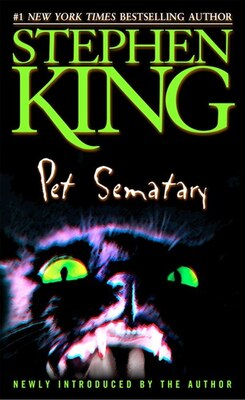 Book Pet Sematary by Stephen King
