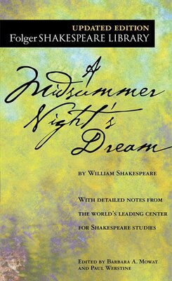 Book A Midsummer Night's Dream by William Shakespeare