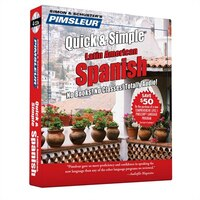 Pimsleur Spanish Quick & Simple Course - Level 1 Lessons 1-8 CD: Learn to Speak and Understand…