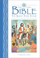 The Lion Bible To Keep For Ever (blue)
