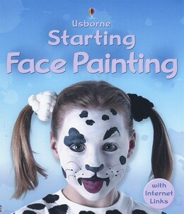 Book Starting Face Painting by Fiona Watt