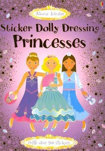 Sticker Dolly Dressing Princesses: Sticker Dolly Dressing