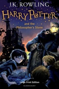 Harry Potter and the Philosopher's Stone: Large Print