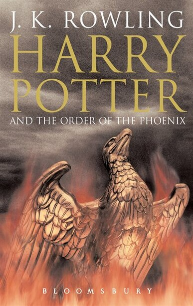 Harry Potter And The Order Of The Phoenix: Adult Edition by J.K. Rowling