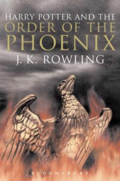 Harry Potter And The Order Of The Phoenix Adult Edition: Adult Edition by J.K. Rowling