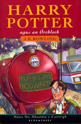 Book Harry Potter And The Philosopher's Stone Irish Edition: Irish Edition by J.k. Rowling