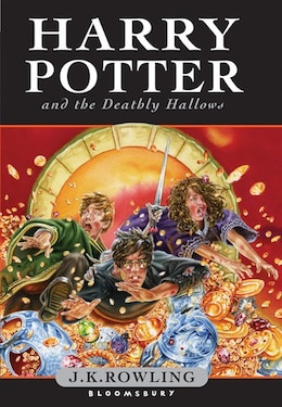 Book Harry Potter And The Deathly Hallows Children's Hardcover by J.k. Rowling