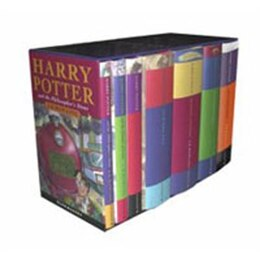 Book Harry Potter Children's Hardcover 7 Volume Boxed Set: Books 1-7 by J.k. Rowling