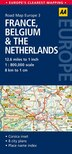 Road Map France, Belgium & The Netherlands by Aa Publishing