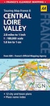 Road Map Central Loire Valley by Aa Publishing