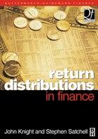 Return Distributions in Finance