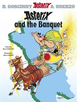 Book Asterix and the Banquet by Renã© Goscinny