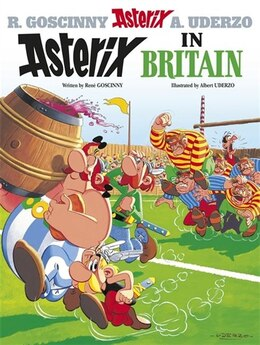 Book Asterix in Britain by RENÉ GOSCINNY